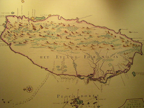 图:台湾古地图